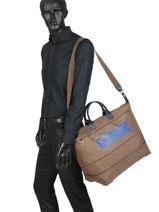 Longchamp Cocagne Sac de voyage Vert-vue-porte