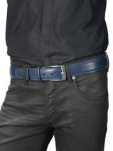 Ceinture Homme Ajustable Extra Petit prix cuir Bleu extra 290-40-vue-porte