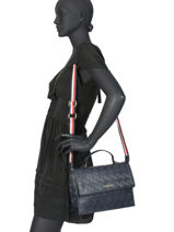 Cross Body Tas Tommy Party Tommy hilfiger Blauw tommy party AW08152-vue-porte