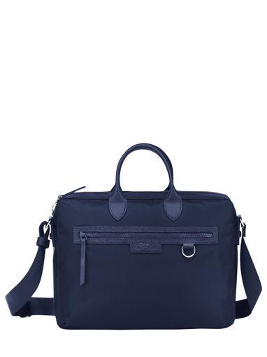 Longchamp Le pliage neo Aktetas Blauw