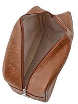 Longchamp Trousse de toilette Marron-vue-porte