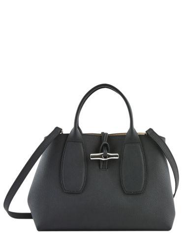 Longchamp Roseau Handtas Zwart