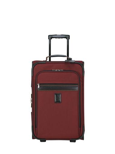 Longchamp Boxford Koffer met wieltjes Rood