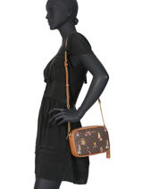 Cross Body Tas Jet Set Girls Michael kors Bruin crossbodies H9GJ6M2O-vue-porte