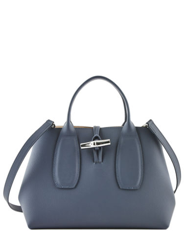 Longchamp Roseau Handtas Blauw
