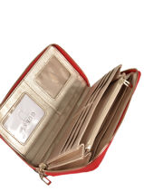Portefeuille New Wave Guess Rood new wave VG747563-vue-porte