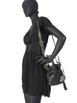 Bucket Bag S Premier Flirt Python Leder Lancel Zwart premier flirt A10528A10528-vue-porte