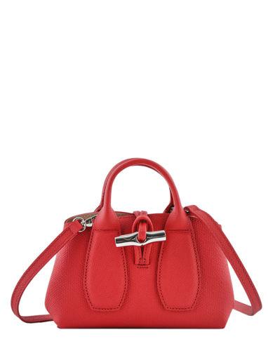 Longchamp Roseau Handtas Rood