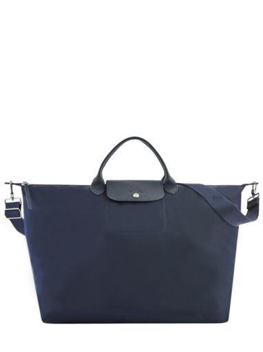 Longchamp Le pliage neo Reistassen Blauw