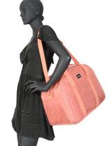 Compacte Reistas Feel Texture Roxy Zwart luggage RJBP4073-vue-porte