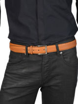 Ceinture Homme Ajustable Classic Petit prix cuir Marron classic 850-35-vue-porte