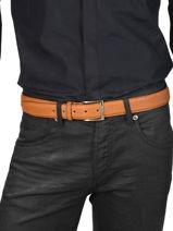 Verstelbare Herenriem Classic Petit prix cuir Bruin classic 850-35-vue-porte