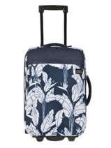 Handbagage Feel The Sky Roxy Zwart luggage RJBL3193