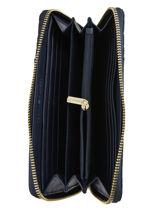 Portefeuille Zip Wallet Tommy hilfiger Noir th core AW08122-vue-porte