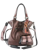 Bucket Bag M Premier Flirt Leder Lancel Roze premier flirt A10422