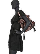 Bucket Bag M Premier Flirt Leder Lancel Roze premier flirt A10422-vue-porte