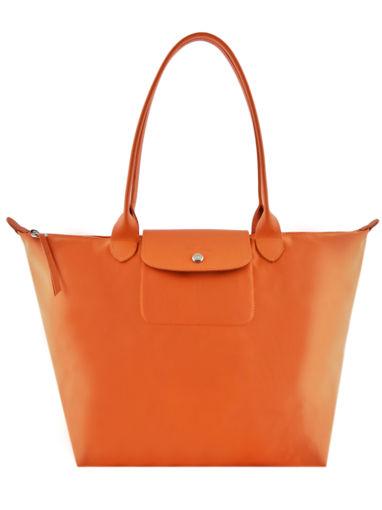 Longchamp Le pliage neo Schoudertas Oranje