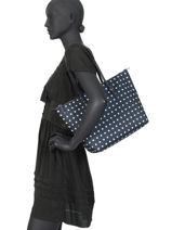Sac Shopping M Chadwick Lauren ralph lauren Bleu chadwick 31758179-vue-porte