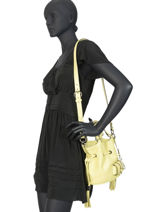 Bucket Bag S Premier Flirt Lancel Geel premier flirt A10109-vue-porte