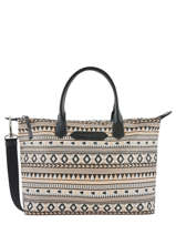 Sac Cabas Actual Ethenic Lancaster Noir actual ethenic 518-67