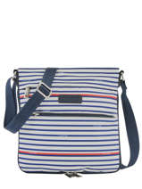 Cross Body Tas Basic Et Sport Lancaster Blauw basic et sport 500220