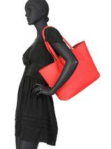 Omkeerbare Shoppingtas Anna Lacoste Zwart anna NF2142AA-vue-porte
