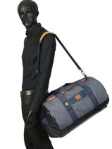 Reistas Handbagage Tricolor Faguo Blauw tricolor 20LU0909-vue-porte