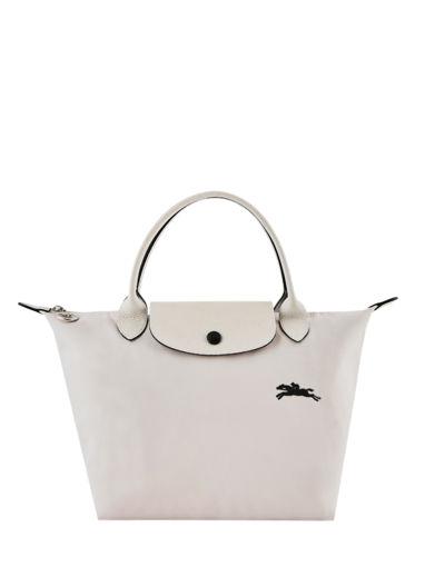 Longchamp Le pliage club Handtas Beige