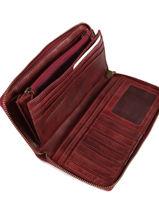 Portefeuille Cuir Biba Rouge accessoires BT10-vue-porte