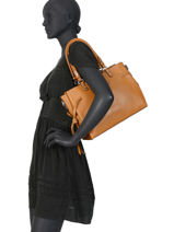 Schoudertas Couture Miniprix Bruin couture DQ8562-1-vue-porte