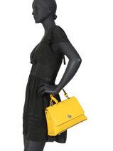 Handtas Couture Miniprix Geel couture M9379-vue-porte