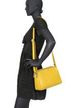 Cross Body Tas Couture Miniprix Geel couture G7432-1-vue-porte