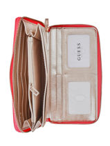 Portefeuille Guess Rose uptown chic VG730163-vue-porte