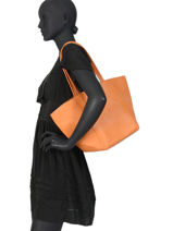 Sac Shopping Calvi Miniprix Orange calvi 97342B-vue-porte