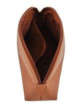 Longchamp Clutch Bruin-vue-porte