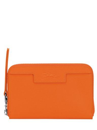 Longchamp Le pliage neo Portefeuille Oranje