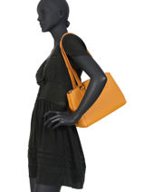 Sac Shopping Madrid Hexagona Orange madrid 535985-vue-porte