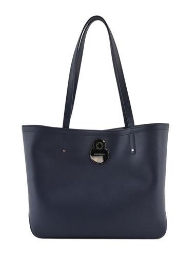 Longchamp Cavalcade Schoudertas Blauw