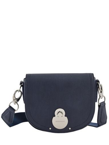 Longchamp Cavalcade Sac porté travers Bleu