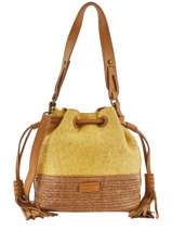 Bucket Bag Ibiza Torrow Geel ibiza TIBI02