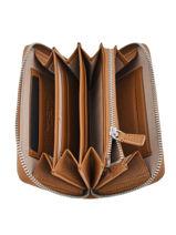 Portefeuille Elettra Cuir Gianni chiarini Marron accessoires PF5043-vue-porte