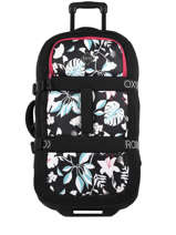 Soepele Reiskoffer Luggage Roxy Zwart luggage RJBL3188