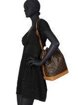 Preloved Louis Vuitton Bucket Bag Noe Gm Monogram Brand connection Bruin louis vuitton 152-vue-porte