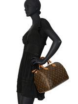 Preloved Louis Vuitton Handtas Speedy 30 Monogram Brand connection Bruin louis vuitton 274-vue-porte