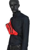 Sac Banane Superdry Rouge accessories M9110042-vue-porte