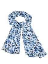 Etole Femme Coton Cowo Bleu cheche 00523