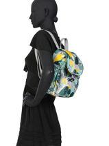 Sac à Dos City Pack Mini Kipling Multicolore basic 12670-vue-porte