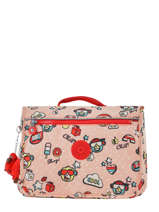 Cartable 1 Compartiment Kipling Rose back to school 13571