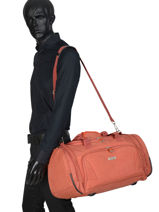 Sac De Voyage Cabine Snow Travel Orange snow 122083-vue-porte