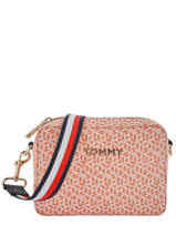 Sac Bandoulière Iconic Tommy Tommy hilfiger Orange iconic tommy AW07945